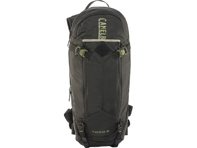 CamelBak T.O.R.O. Protector 8 Backpack dry black/burnt olive